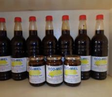 miel en bouteille